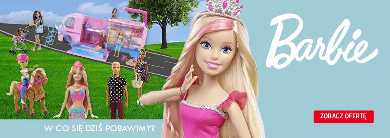 Barbie - w co się dziś pobawimy - lalka Barbie w Selgros24.pl