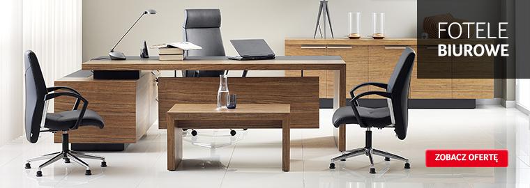 Fotele biurowe - dostępne w ofercie sklepu internetowego Selgros24.pl