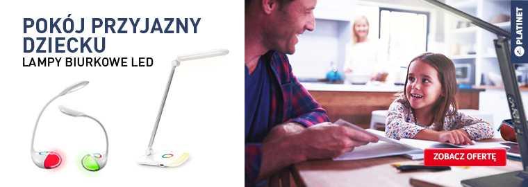 Platinet - lampy biurkowe, dla dziecka - kupuj taniej w Selgros24.pl