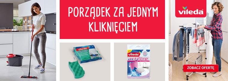 Vileda - porządek za jednym kliknięciem - do kupienia w Selgros24.pl